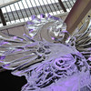 At the Entrance to the Ice Festival.<br /> On Mount Rokko, Kobe. It was -3C maximum up there, that day for the Ice Festival!