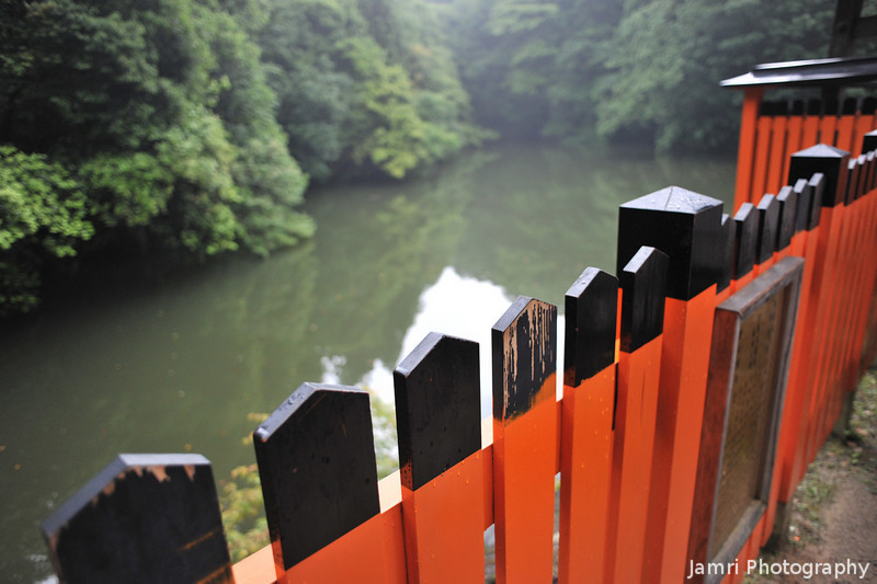 At a small Lake.<br /> This was as far as we went in Fushimi Inari-Taisha as Ritsuko advised we should head back before it got dark. So, maybe I will go back another day to see what else there is to see here.