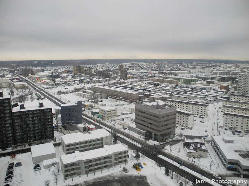Shinsapporo in the Morning.