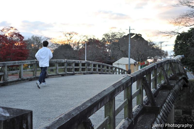 Sunrise in Arashiyama.