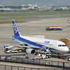 An ANA A320 at the Gate.
