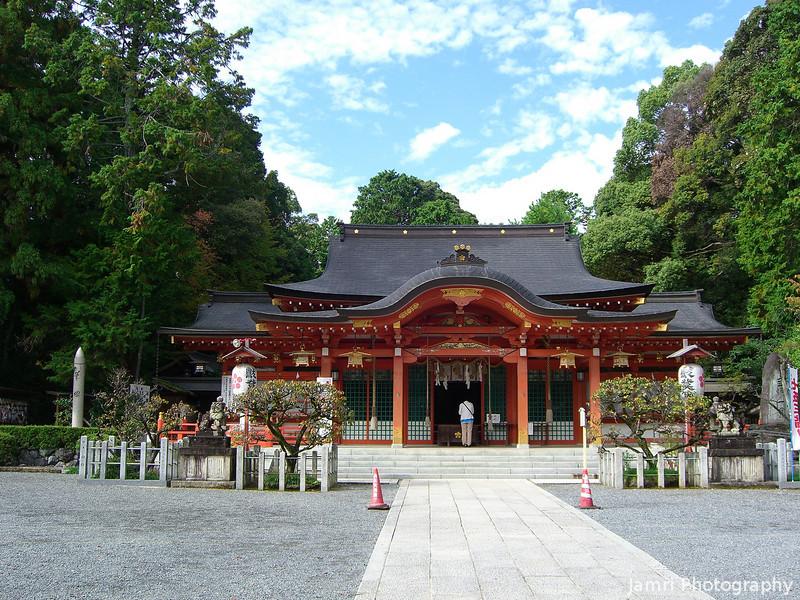 Inner Building.<br /> Of Nagaoka Tenmangu Shrine.