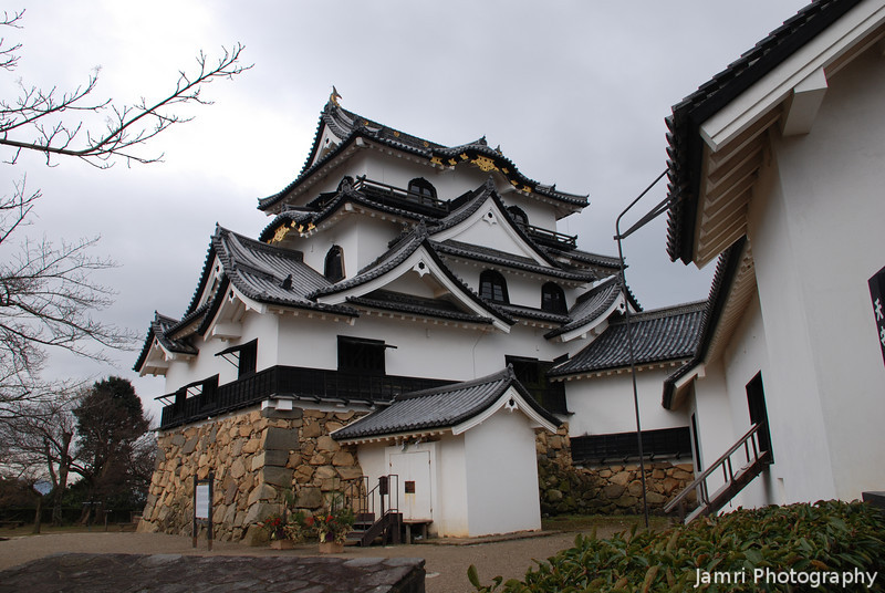 Another Angle on Hikone Castle.