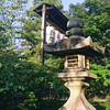Lantern at Nagaoka Tenmangu Shrine.<br /> Note Film Shot: Mamiya RB67 & Mamiya-Sekor 90mm f/3.8 Lens & Fujicolor Reala 100