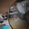 Another day, another shot of the fan.<br /> This time it's in motion.