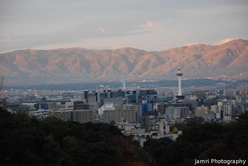 Across the valley.<br /> From Kiyomizu-dera (Kiyomizu temple) in Higashiyama, Kyoto.