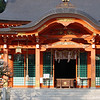 The Inner Sanctum, Nagaoka Tenmangu Shrine, Nagaokakyo.<br /> This was the first time I went to this part of the Shrine grounds, I seldom go into the inner part of Shinto Shrines as quite often I feel an oppressive atmosphere at them. It was not the case here. On the other hand I find most Buddhist temples quite peaceful places to visit.