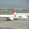 JAL 777-200 with Japan Endless Discovery livery.