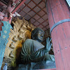 Daibutsu (The Big Buddha) 3.<br /> This is the biggest statue of Buddha in Japan, it's so big that a slim person can fit into his nostril! There's a hole cut into a pillar in another part of the temple which is the same size. People try to squeeze through, thinking they be granted a wish if they can pass through Buddha's nostril!