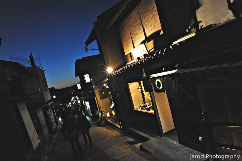 Light Burst.<br /> During the 2011 Higashiyama Hanatouro.