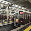 At the Platforms.<br /> In Hankyu Umeda Station.