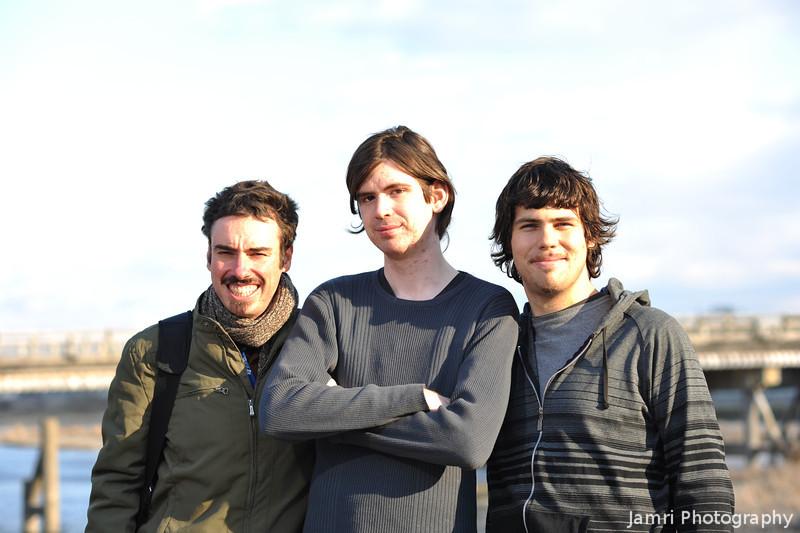 Three Aussies at Arashiyama.<br /> L-R: Me, Ben and Dave.<br /> Photo by Ritsuko.