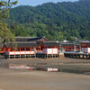 At Low Tide.<br /> Itsukushima shine in Miyajima, Hiroshima.