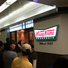 For future reference.<br /> A Krispy Kreme Doughnuts just opened in the Shijo Station underground walkway. The line was way too long on that day for me to bother, I'll go in a few months once all the fuss dies down.