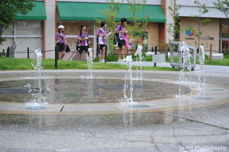 At the Fountains.<br /> Near Bambio in Nagaokakyo.