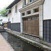 Storehouses and Carp Stream.<br /> To store the floats used in festivals in humidity controlled environment. <br /> In Hida Furukawa, Gifu prefecture, Japan.