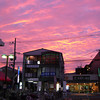 The Most Colourful Sunset I've seen in Nagaokakyo.<br /> Unlike in Perth where sunset colour means fair weather, here in Nagaokakyo it means a storm is coming.