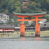 Towards the Big Torii.<br /> Miyajima Island, Hiroshima Prefecture.