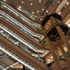 Inside the Fukuya Department Store.<br /> In Hiroshima.
