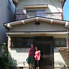 "Us outside the house which we are renting in Japan.<br /> This photo was taken during our brief visit to Japan 2 months prior to us moving in. This photo was taken by our friend Takaaki ""Taka"" Tanaka."