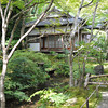 By the little Stream.<br /> At Jojakko-ji (a Buddhist Temple).