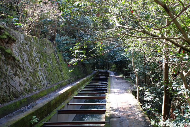 Up the Aqueduct.<br /> Within the grounds of Nanzenji (a Buddhist Temple) there's a 120 year old Aqueduct, built during the Meiji Restoration (when Japan opened up to the outside world).