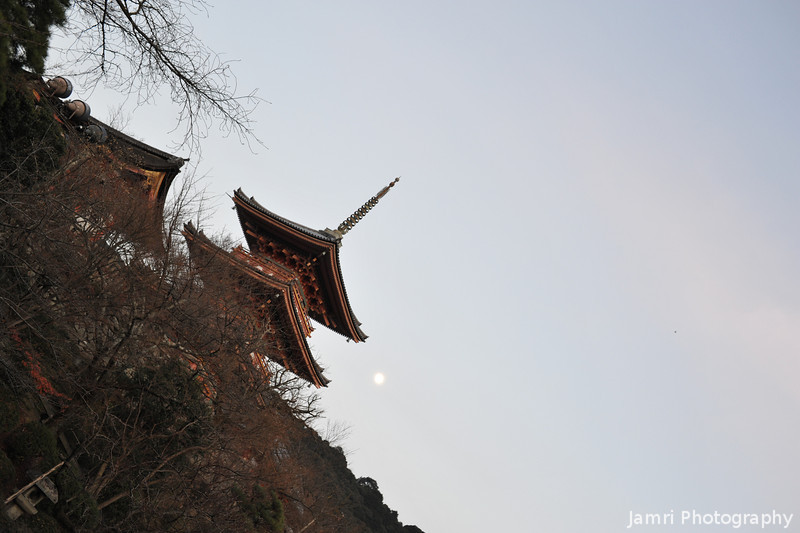 The Pagoda and the Moon.