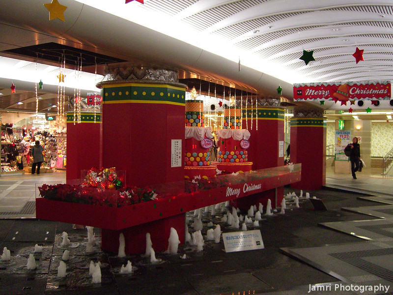 Christmas Decorations are up early in Japan.<br /> And they're gone on Christmas Day!
