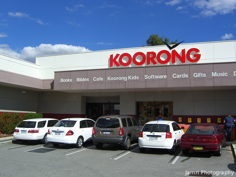 Koorong Books.<br /> There are no Christian bookstalls like this in Japan!