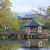 Towards the Gazebo.<br /> This gazebo was built at Nagaoka Tenmangu Shrine, to celebrate Nagaokakyo's sister city relationship with Ningbo in China. Nagaokakyo is also a sister city of Arlington, Massachusetts, in the United States.