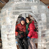 In the Ice Igloo.