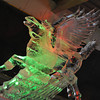 Pegasus.<br /> At the Mt. Rokko Ice Festival, near Kobe.