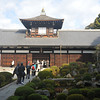 A Temple Building and Garden.<br /> At Tofuku-ji, Higashiyama, Kyoto.