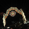 The Last Archway.<br /> In the Tunnel of Light at Kobe Luminarie 2011.