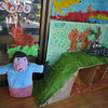 Pig and Cat.<br /> Some of the Art Work on display at Megumi Kindergarten's 50th Annual Kaigaten (Art Exhibition).