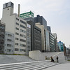 Buildings Near Keihan Temmabashi Station.