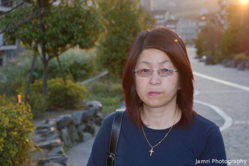 Ritsuko on the Pathway.