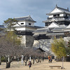 At the Castle.<br /> Matsuyama Castle.