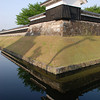 Shoryuji Castle turret.<br /> Shoryuji Castle was home to one of Nagaokakyo's first Christians Hosokawa Gracia (aka Ga-ra-sha).