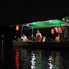 "Water Hawkers.<br /> This boat came along to try to sell beer and snacks to people on our boat, but no one bought anything. Also ""the Queen"" was not amused at having her evening on the water disrupted by ""third world style"" hawkers in Japan!"