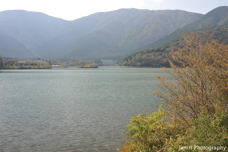 Across Lake Tanuki.