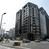 Building on the Corner.<br /> Near Temmabashi Station in Osaka.
