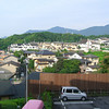 The view from our Hotel Room in the Morning.<br /> At Ogoto-onsen in Shiga.