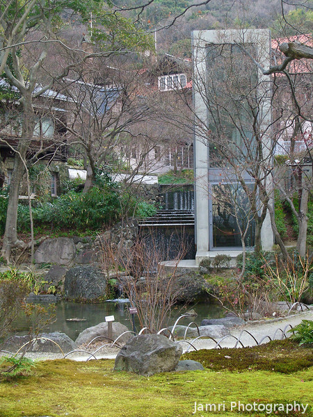 Garden View.<br /> At the former country retreat of a wealthy Japanese man.