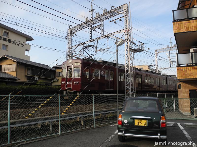 Hankyu Train and Green Car.