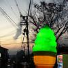 Ice Cream Sunset.<br /> There's nothing like having a green tea soft cream in Higashiyama.