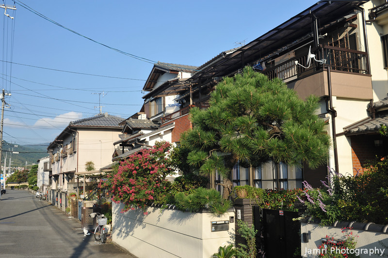 O' so familiar now.<br /> Typical Japanese residential area was once something new and exotic, but I'm so used to seeing it now.