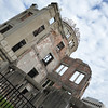 A different angle on the Peace Dome.<br /> In Hiroshima.