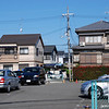 Car Park and Houses<br /> A little window in to part of my neighbourhood in Nagaokakyo.