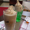 Delicious Floats.<br /> From Holly's Cafe.